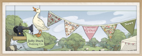 Jolly Duck Bunting