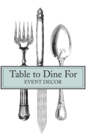 Table To Dine For