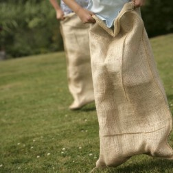 For Garden Waste Made From Hessian