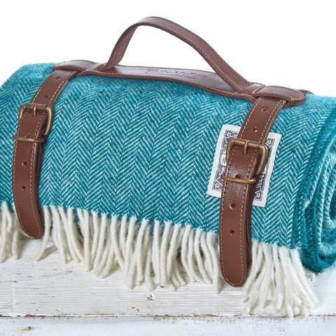 Tolly Mcrea Picnic Rolled New Aqua Large
