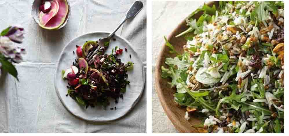 Anna Barnett Venus Rice Salad And Ottolenghis Buckwheat Salad Edited 1