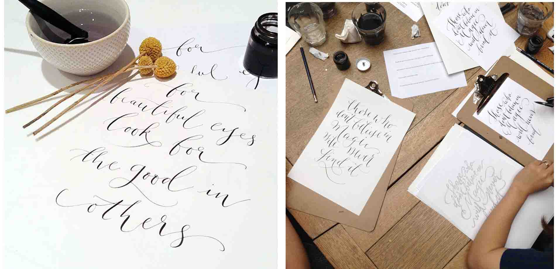 Quill London Calligraphy Courses