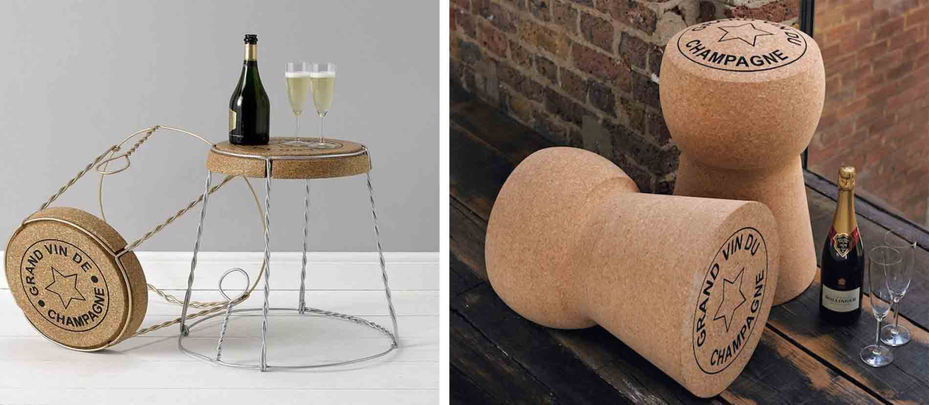 Giant Cork And Side Table