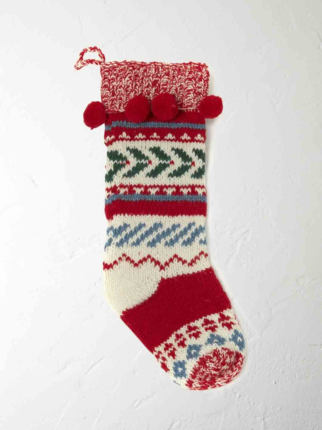 White Stuff Stocking