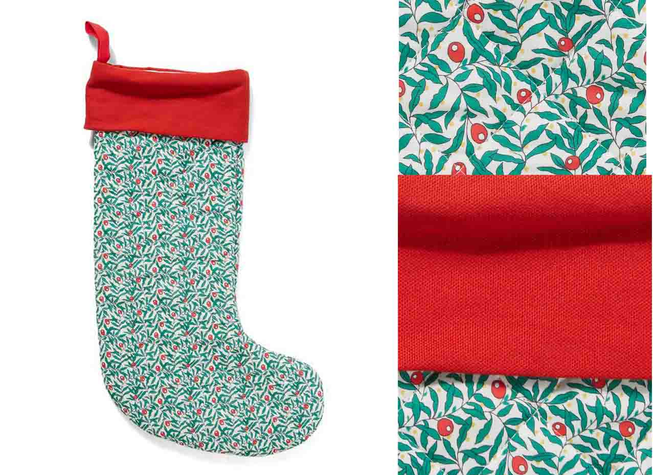 Liberty Christmas Stocking