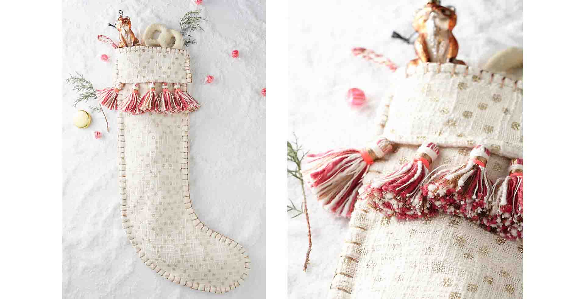 Anthropologie Tassle Stockings