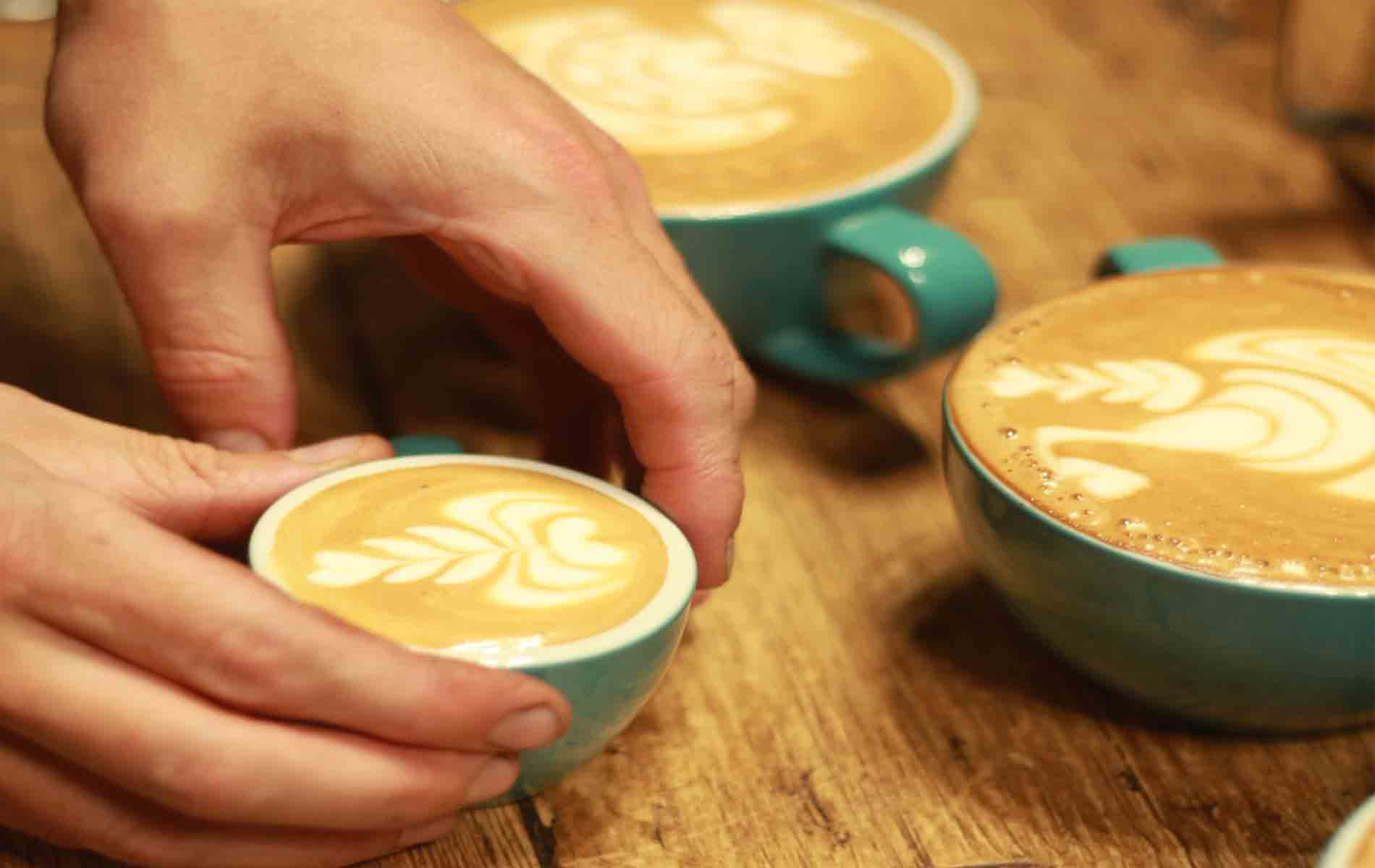 Artisan Coffee School Coffee Cups