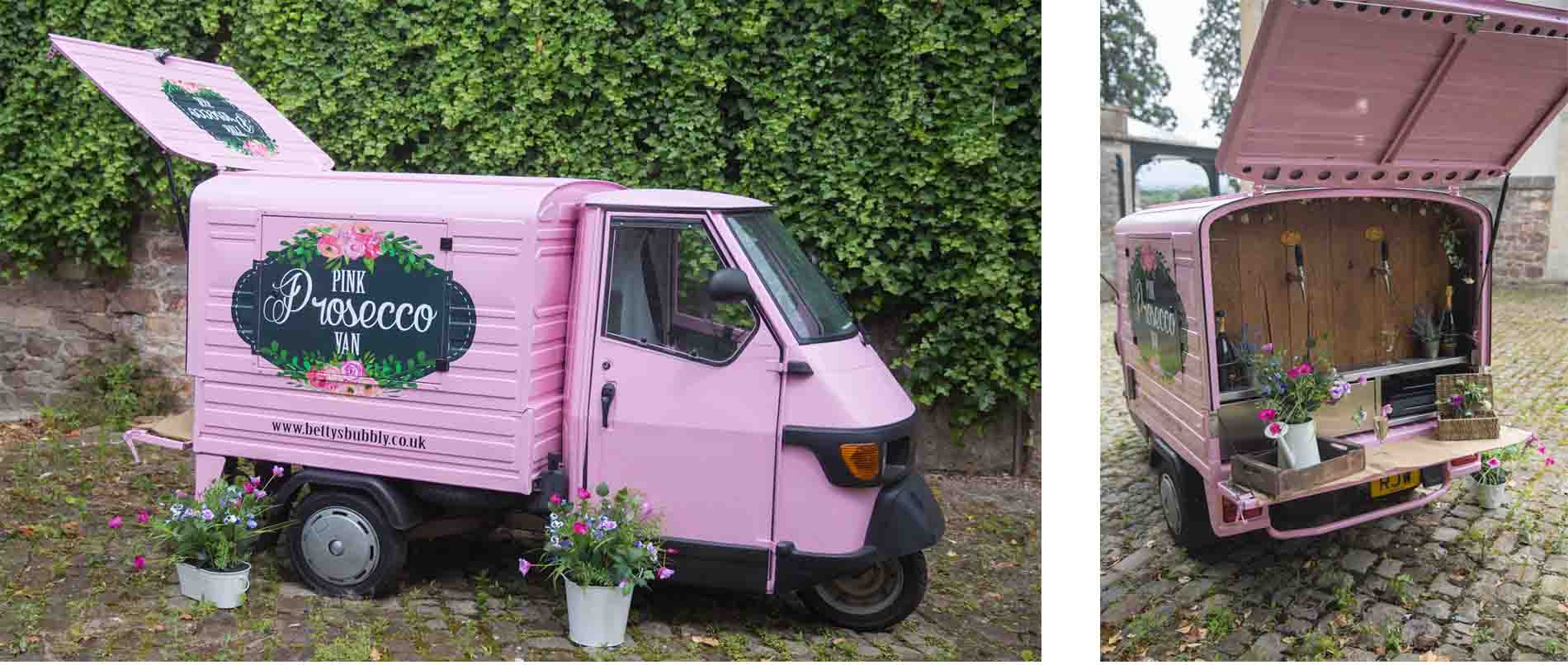 Bettys Bubbly Van