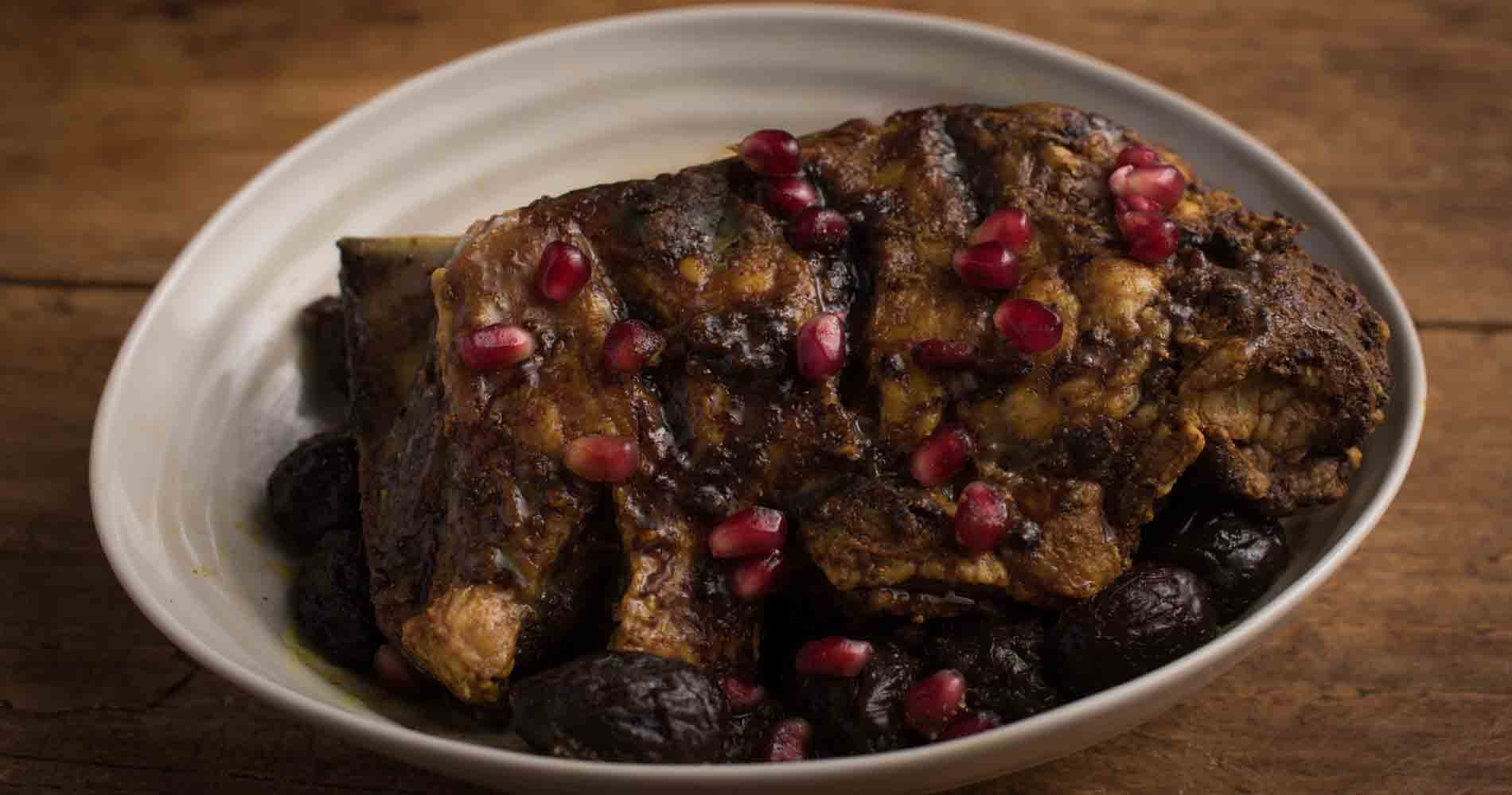 Persian Slowed Cooked Lamb With Pomegranate Molasses Edited 1
