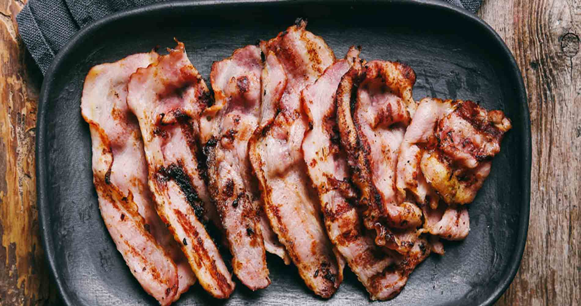 Cure And Simple Cooked Bacon