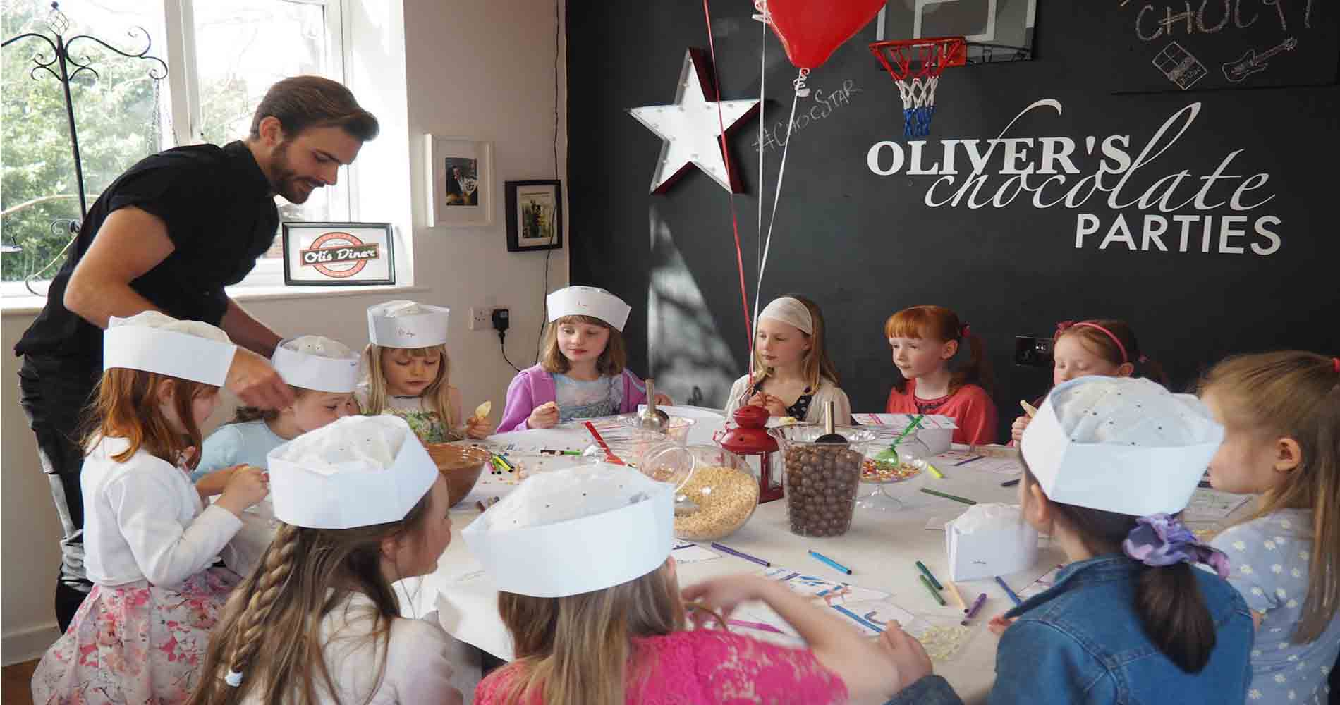 Olivers Childrens Parties