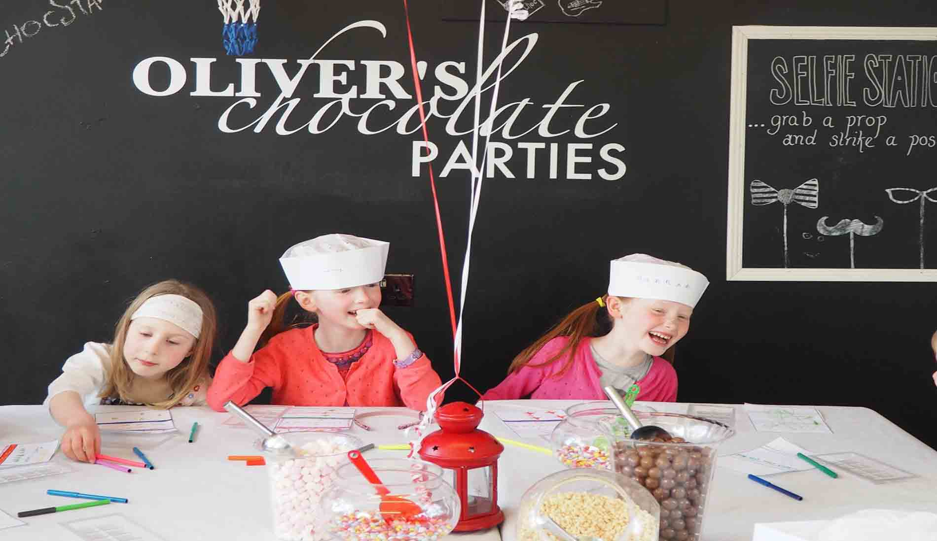 Olivers Chocolate Parties