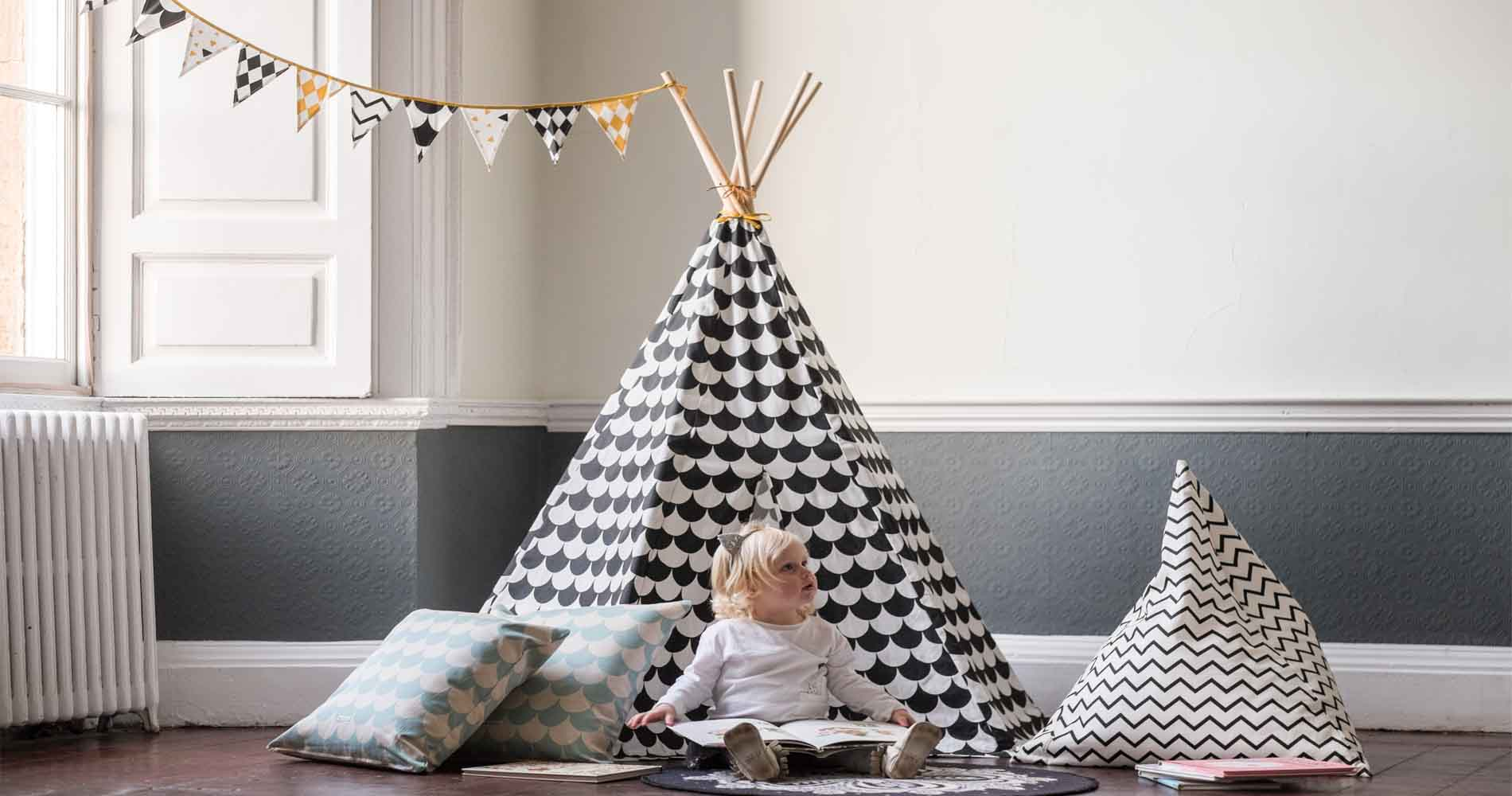 Wild Things Childrens Tipi Party