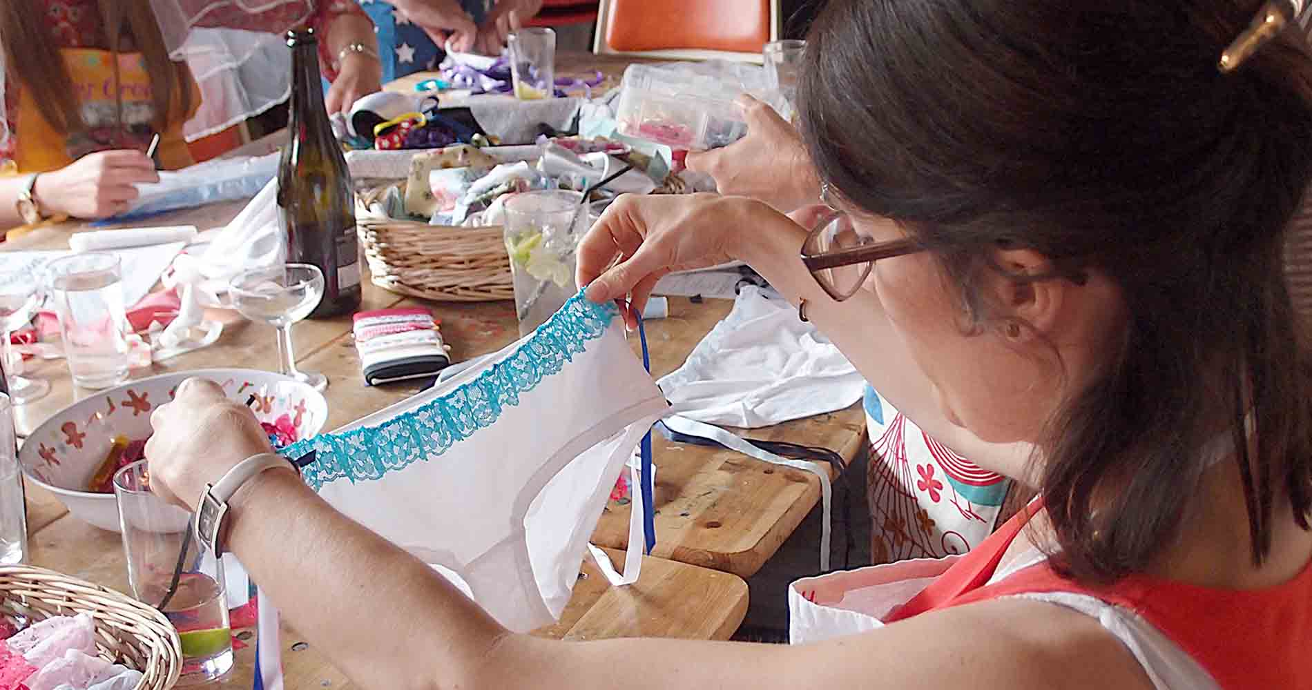 Knicker Customisation The Crafty Hen