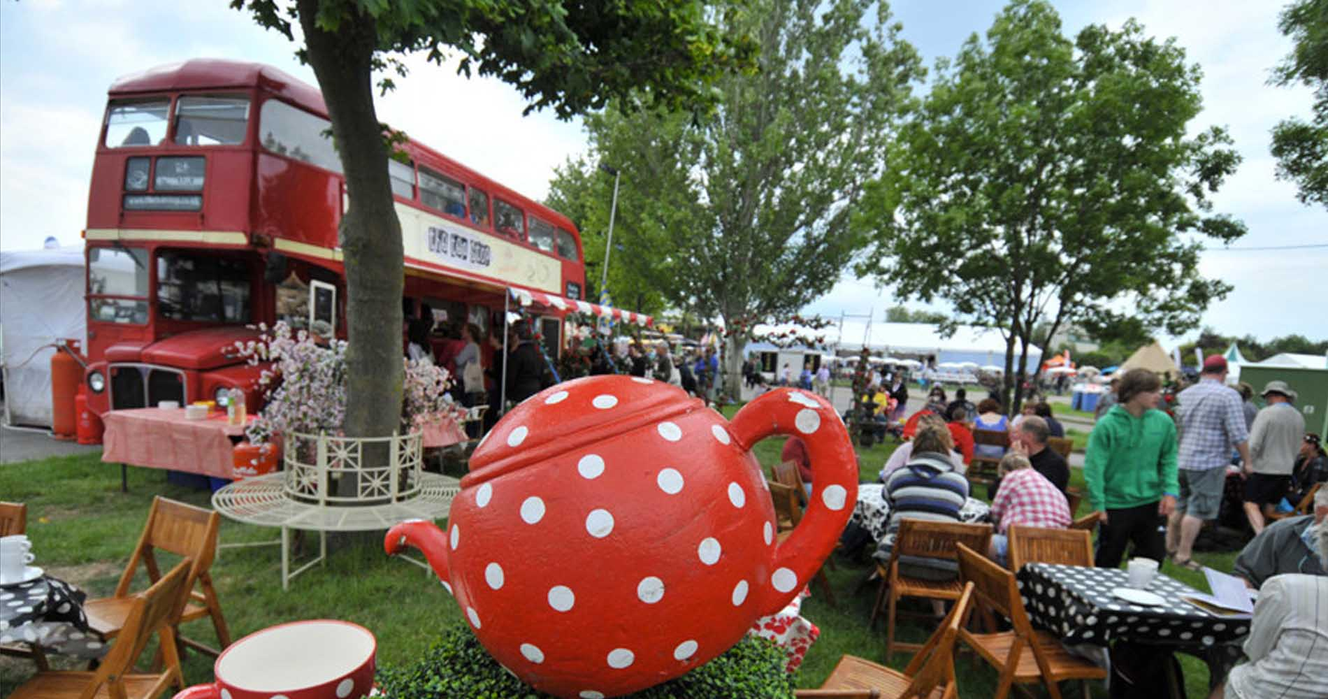 The Teashop Outdoor Event