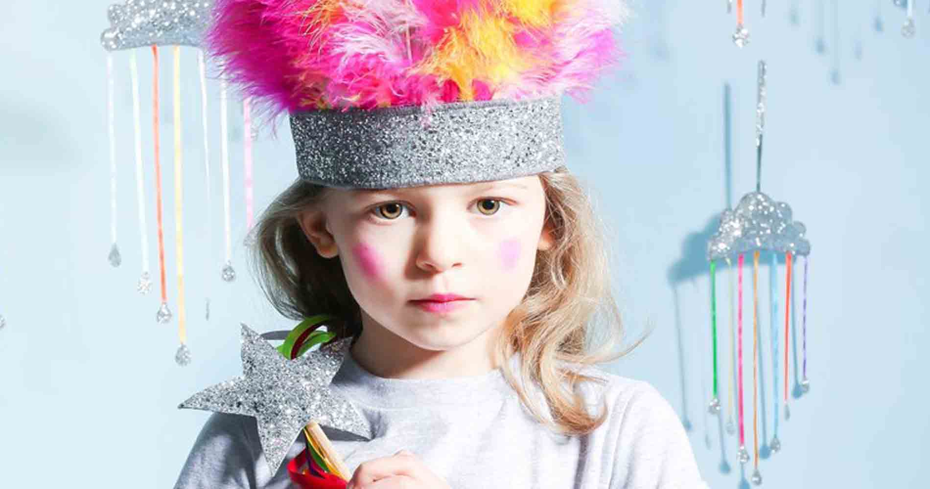 Sparkle Child London Headress And Stars