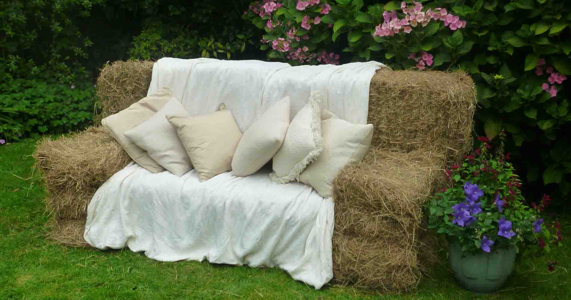 Party Bales Seating