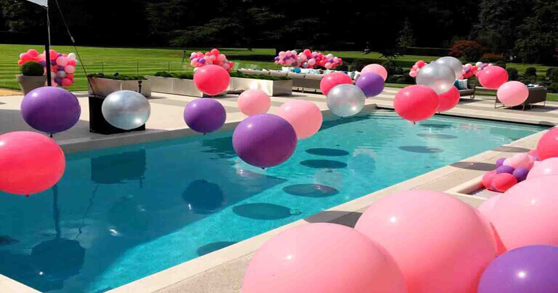 How to throw the ultimate garden party for Balloon decoration courses in london