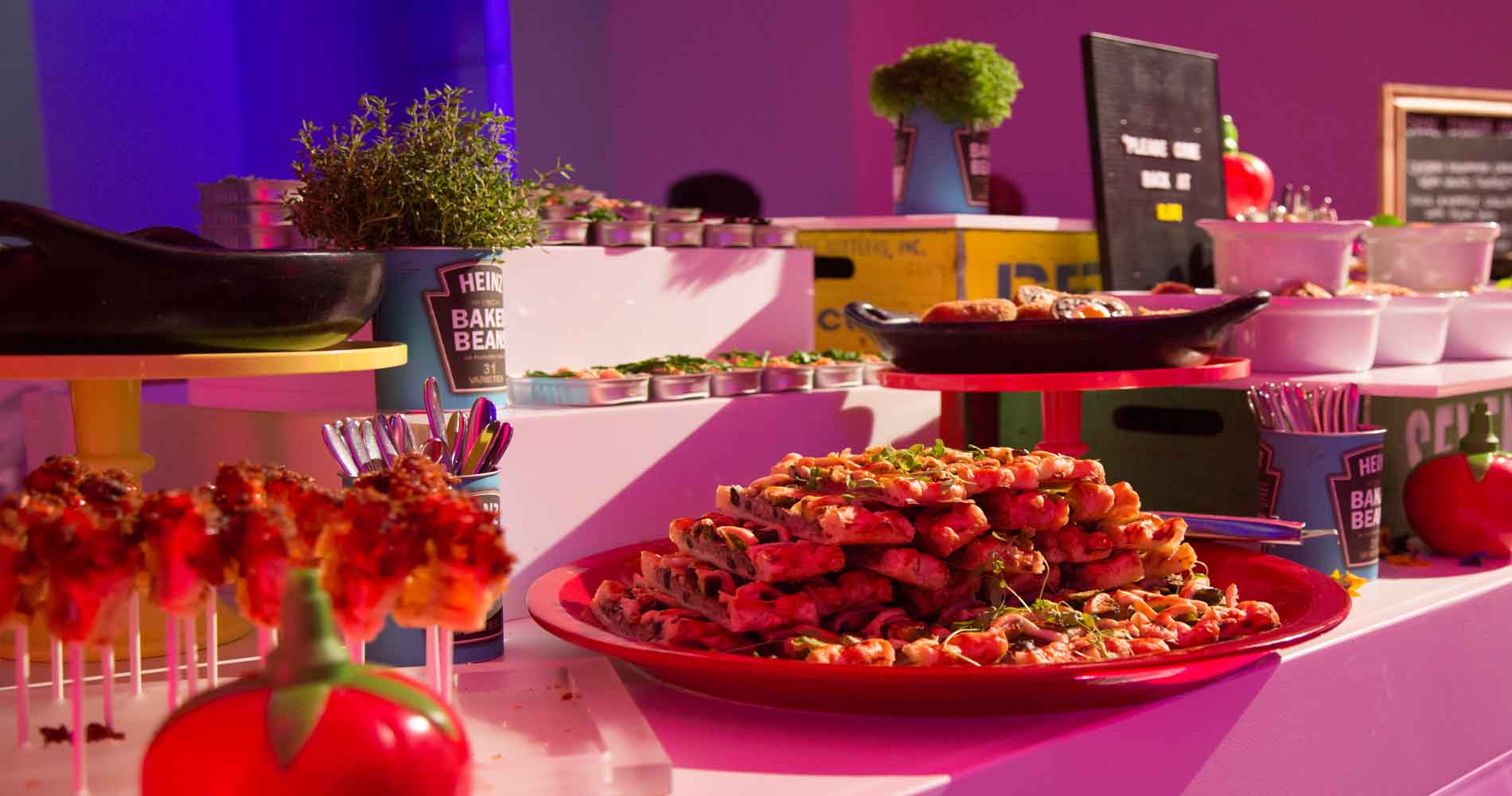 Zafferano Catering Spread