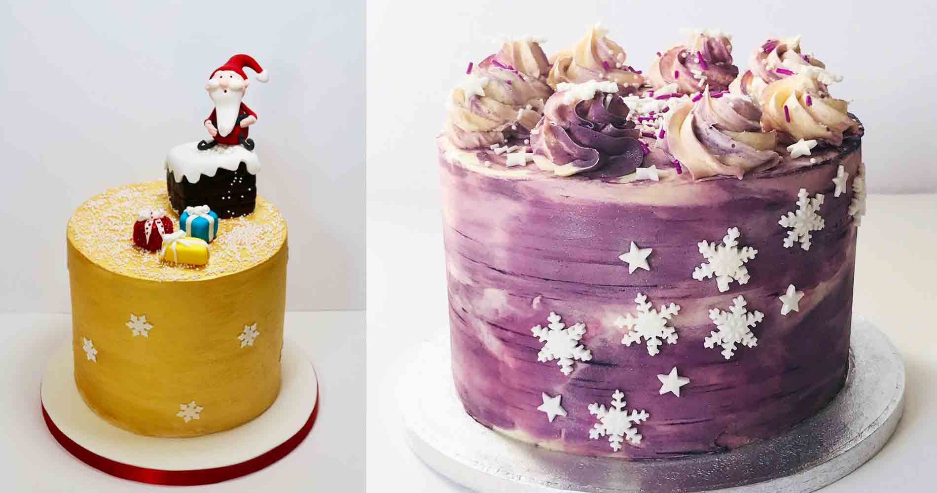 Sweet Elements Christmas Cake