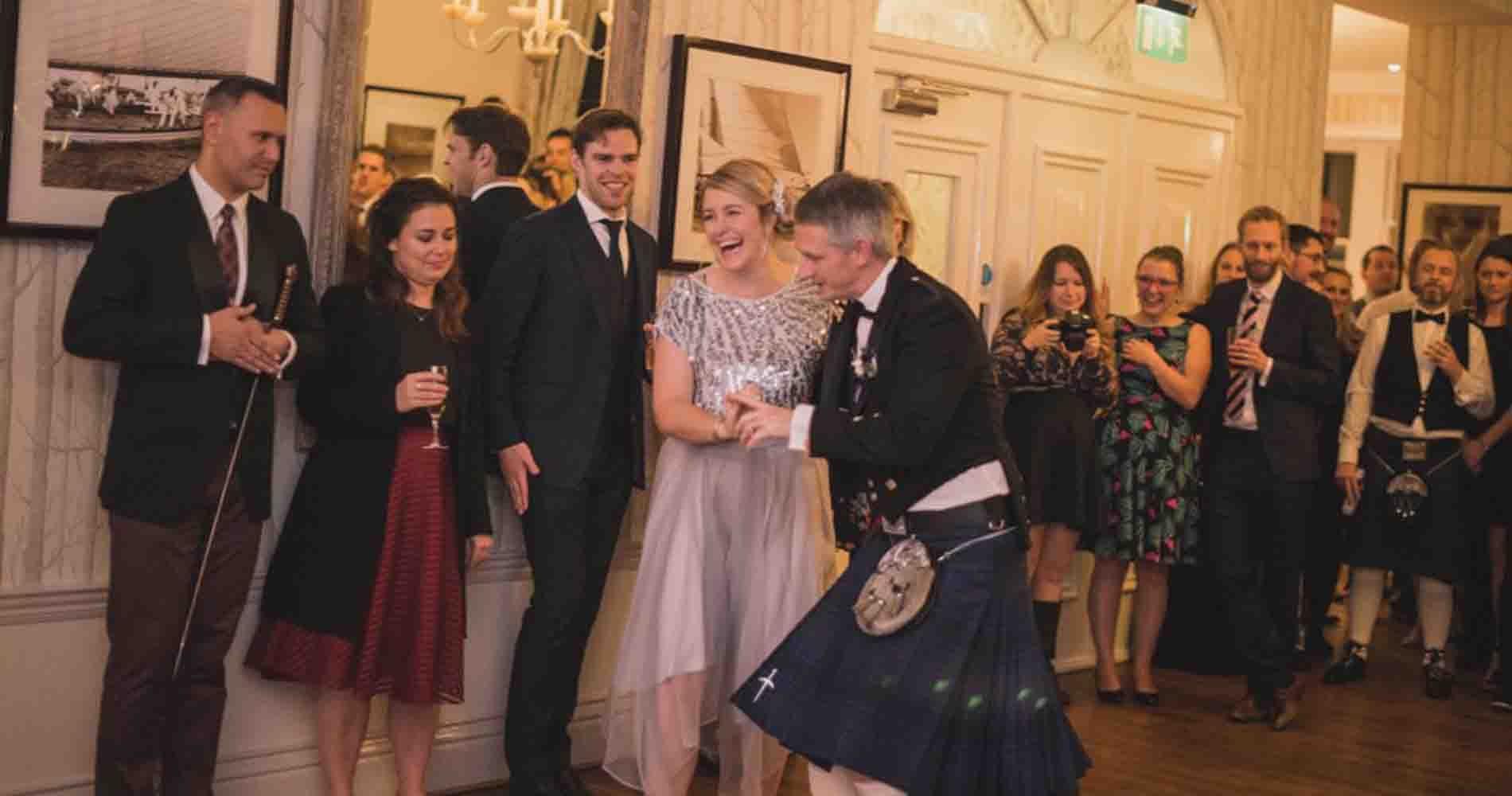 Burns Night Band Image By Marc Le Galle