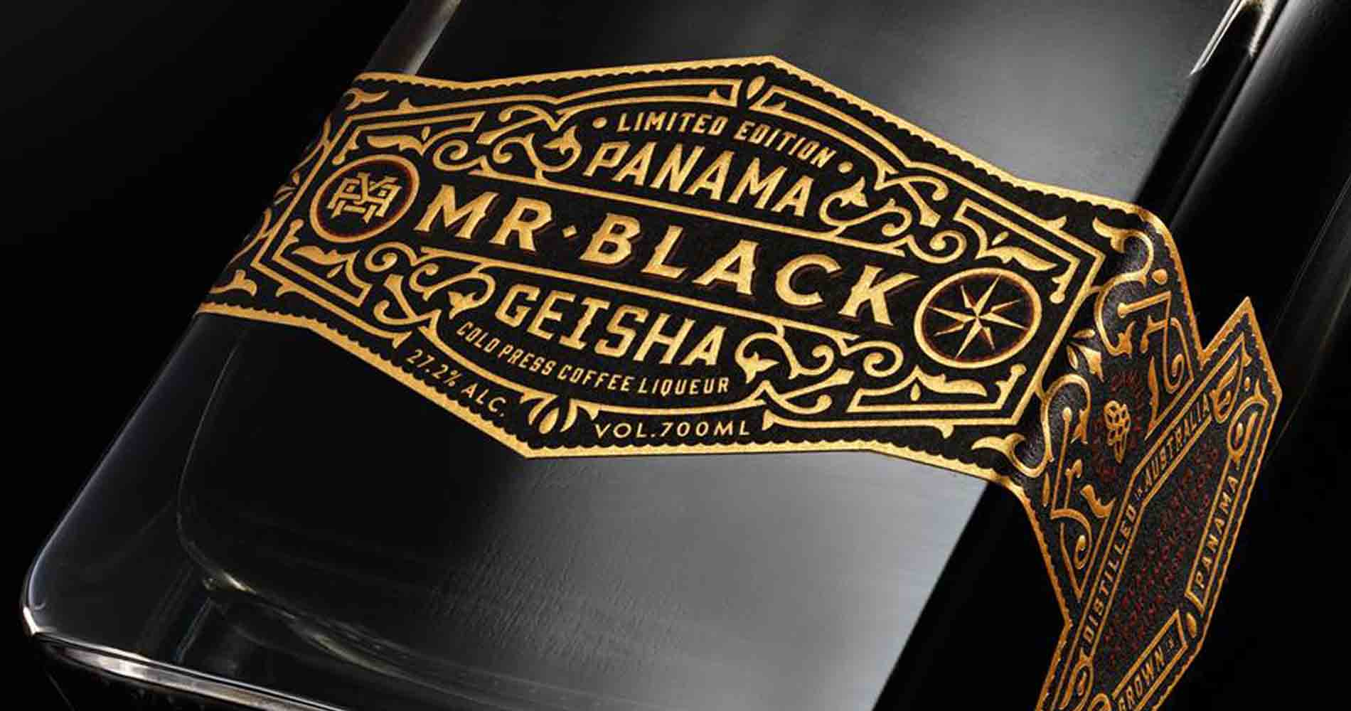 Mr Black Bottle