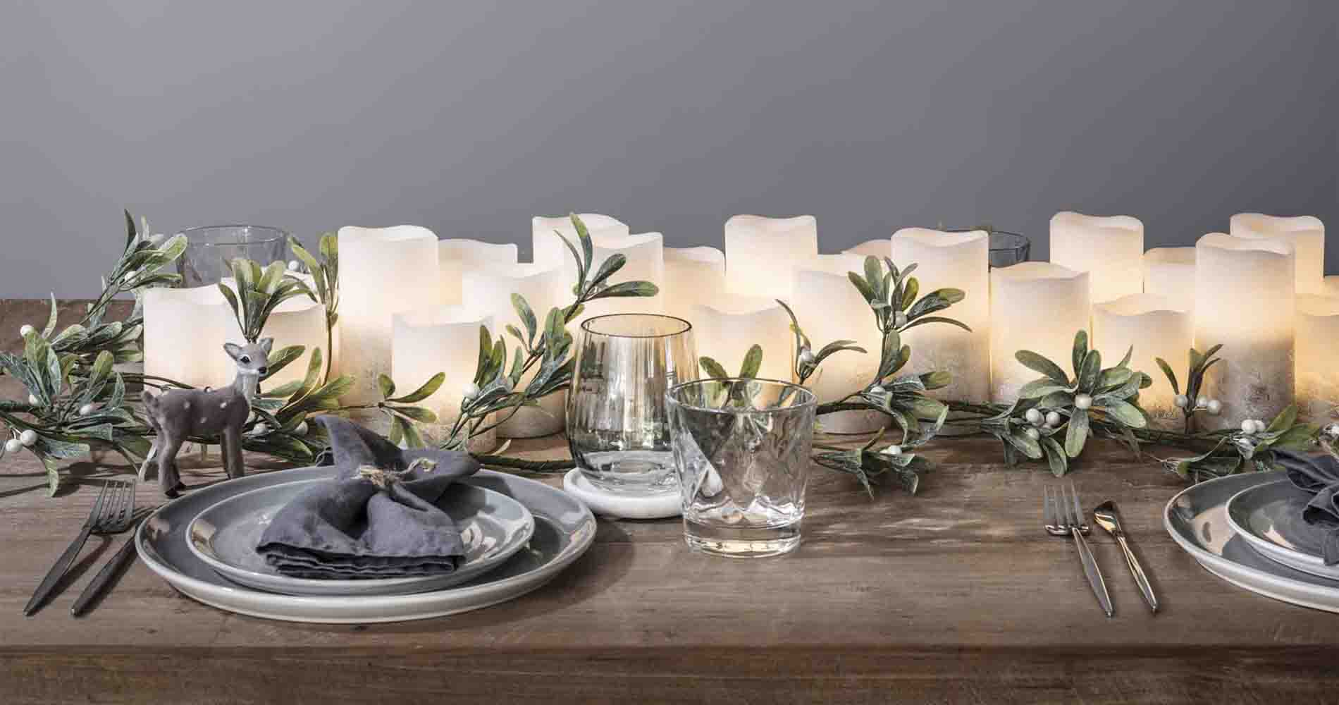 Pillar Candle Tablescape Lights 4 Fun
