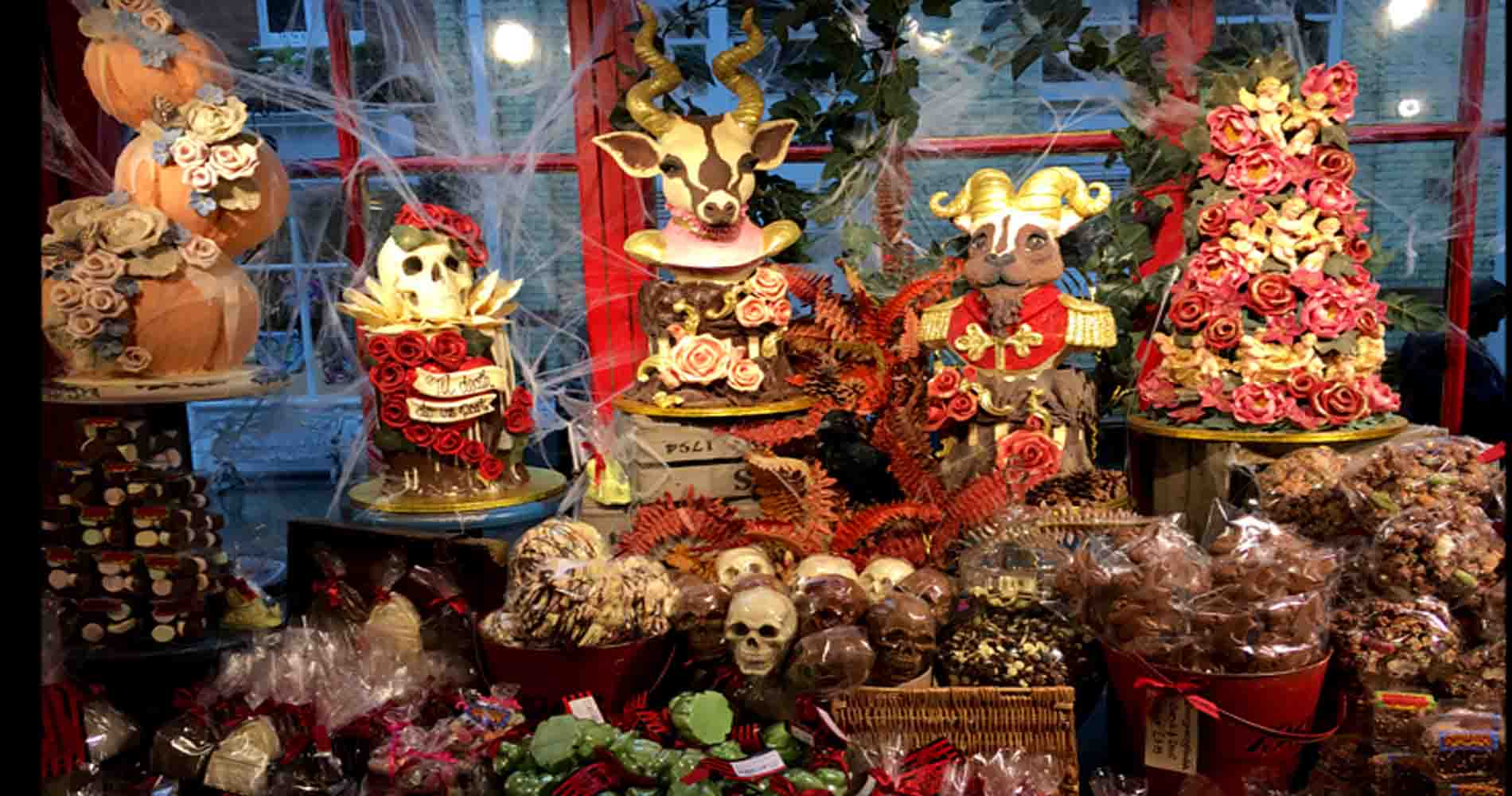 Choccywoccydoodah Window