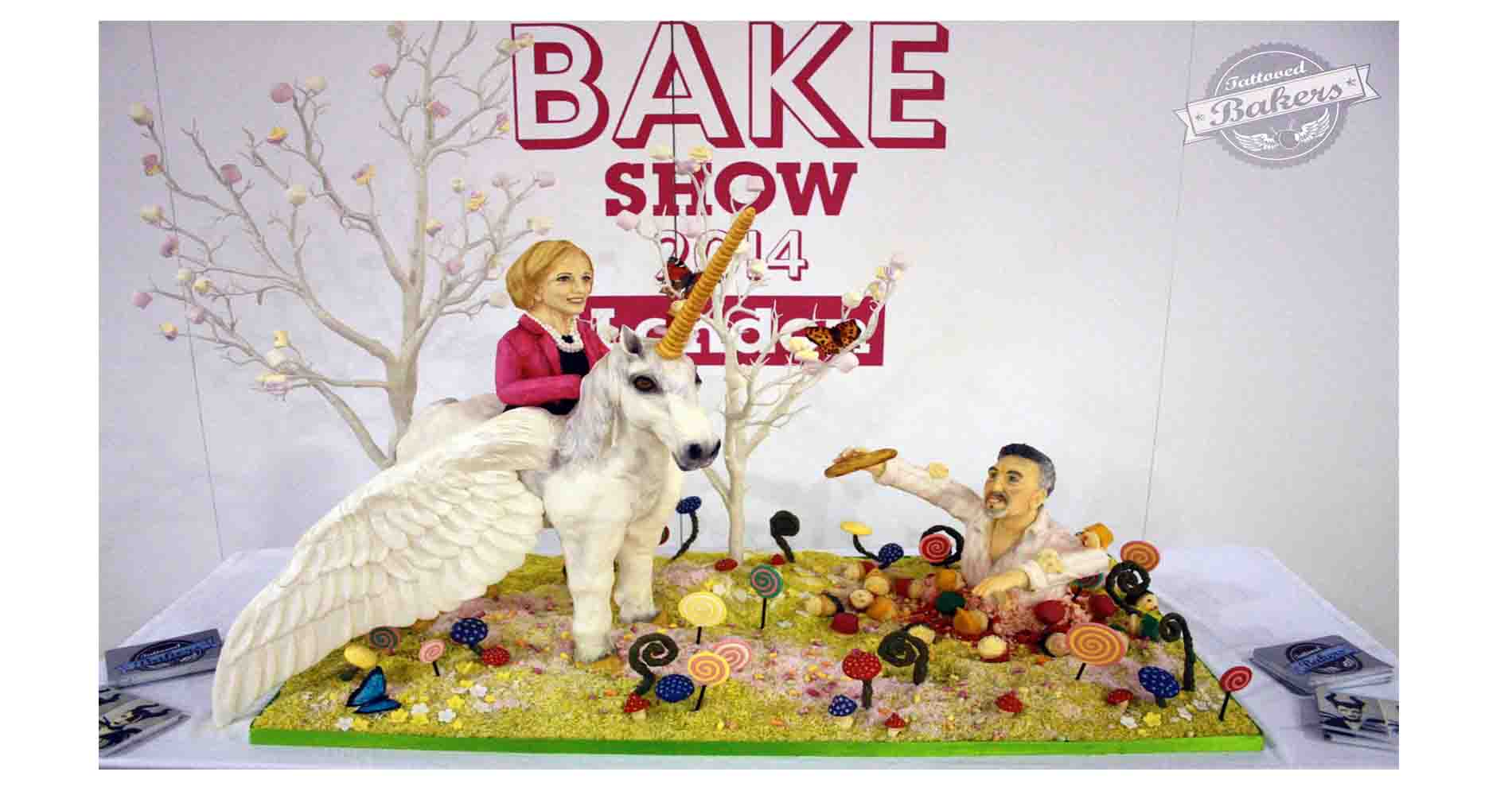 Cake And Bake Show Tattooed Bakers
