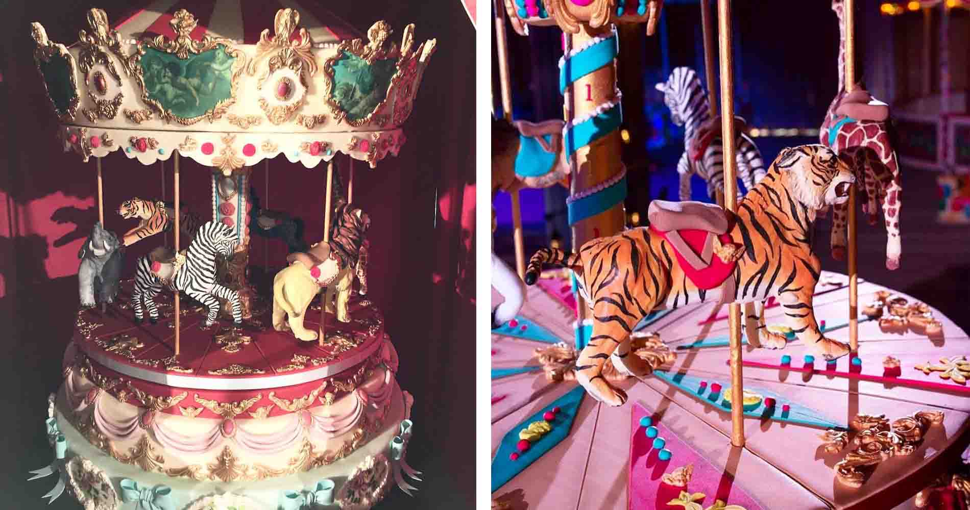 Carousel Cake Tattooed Bakers