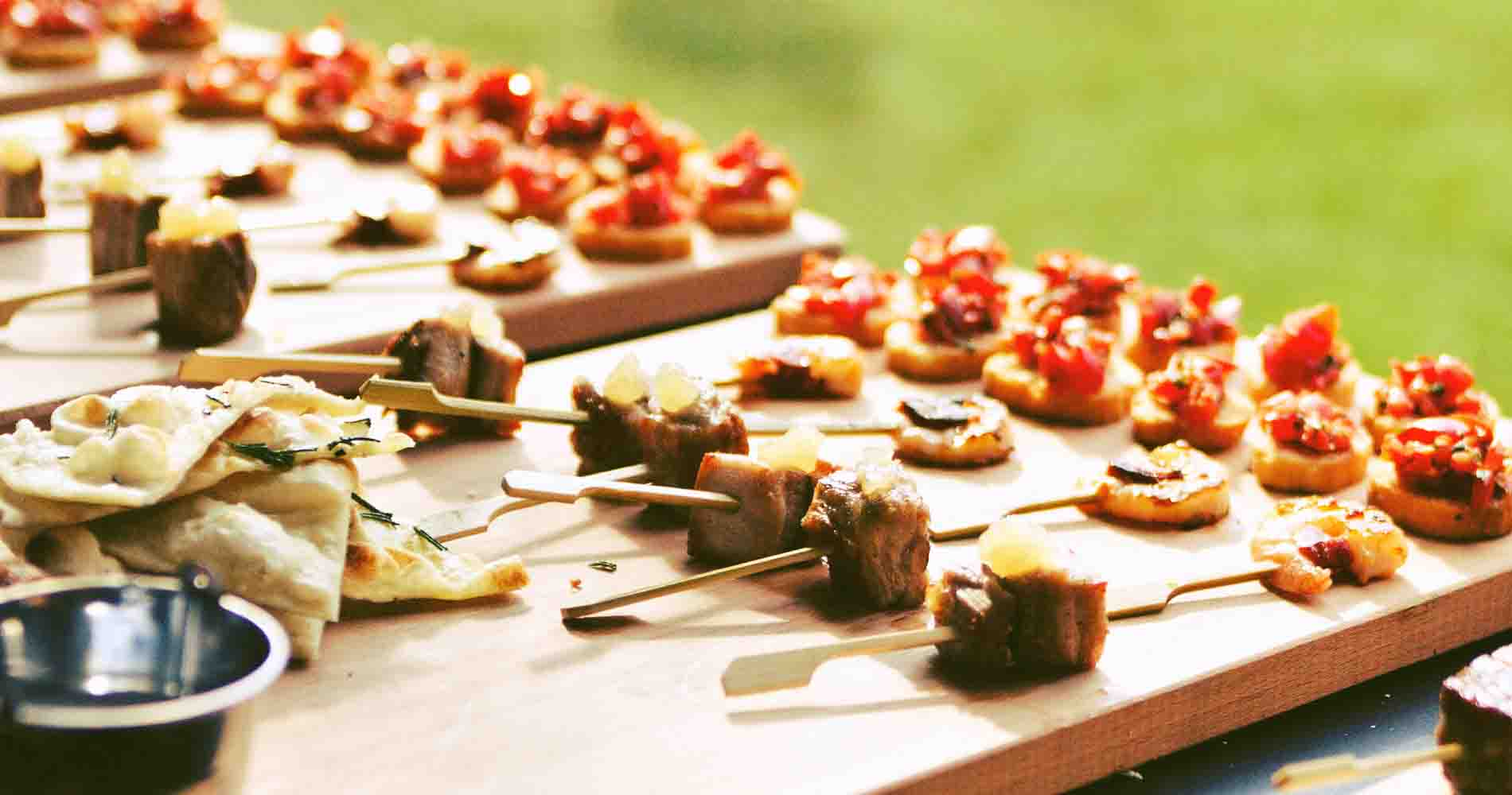 Thw Wild Oven Canapes