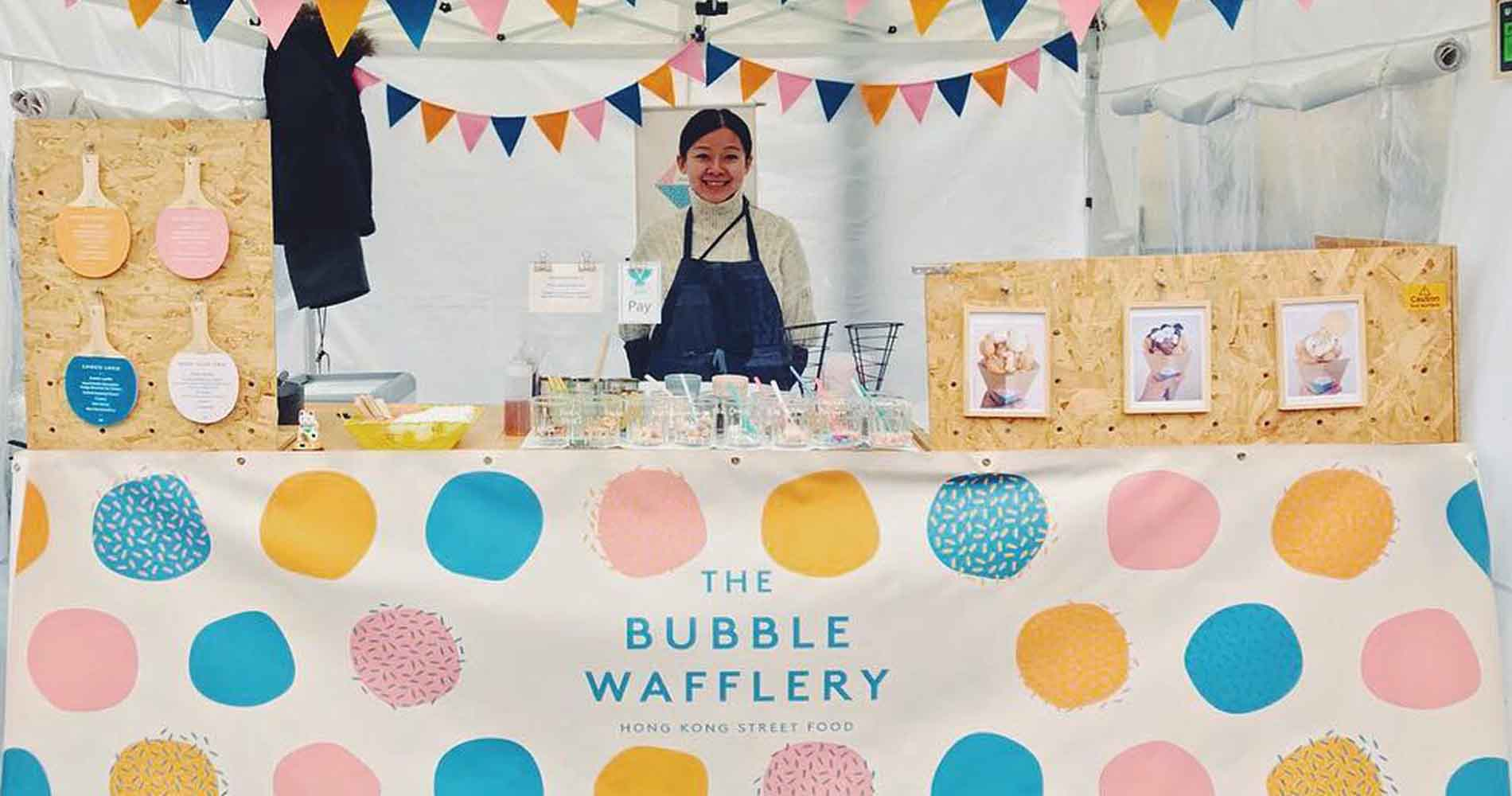 The Bubble Wafflery Stall