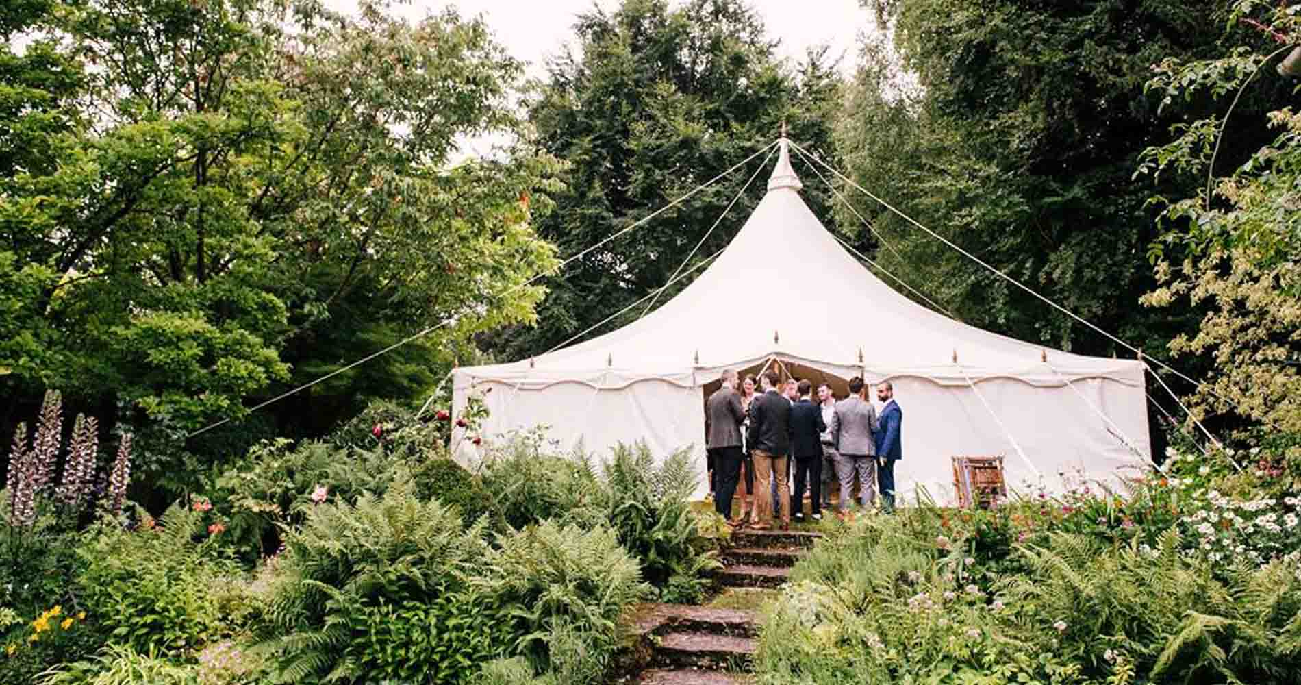 Alternative Events Garden Tipi