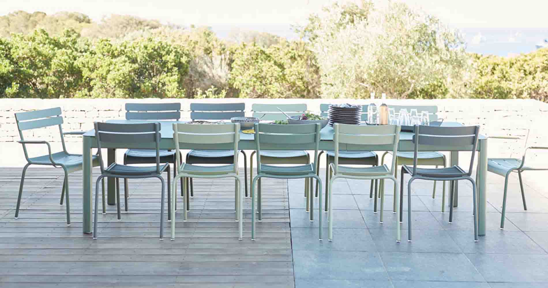 Fermob Outdoor Table And Chairs