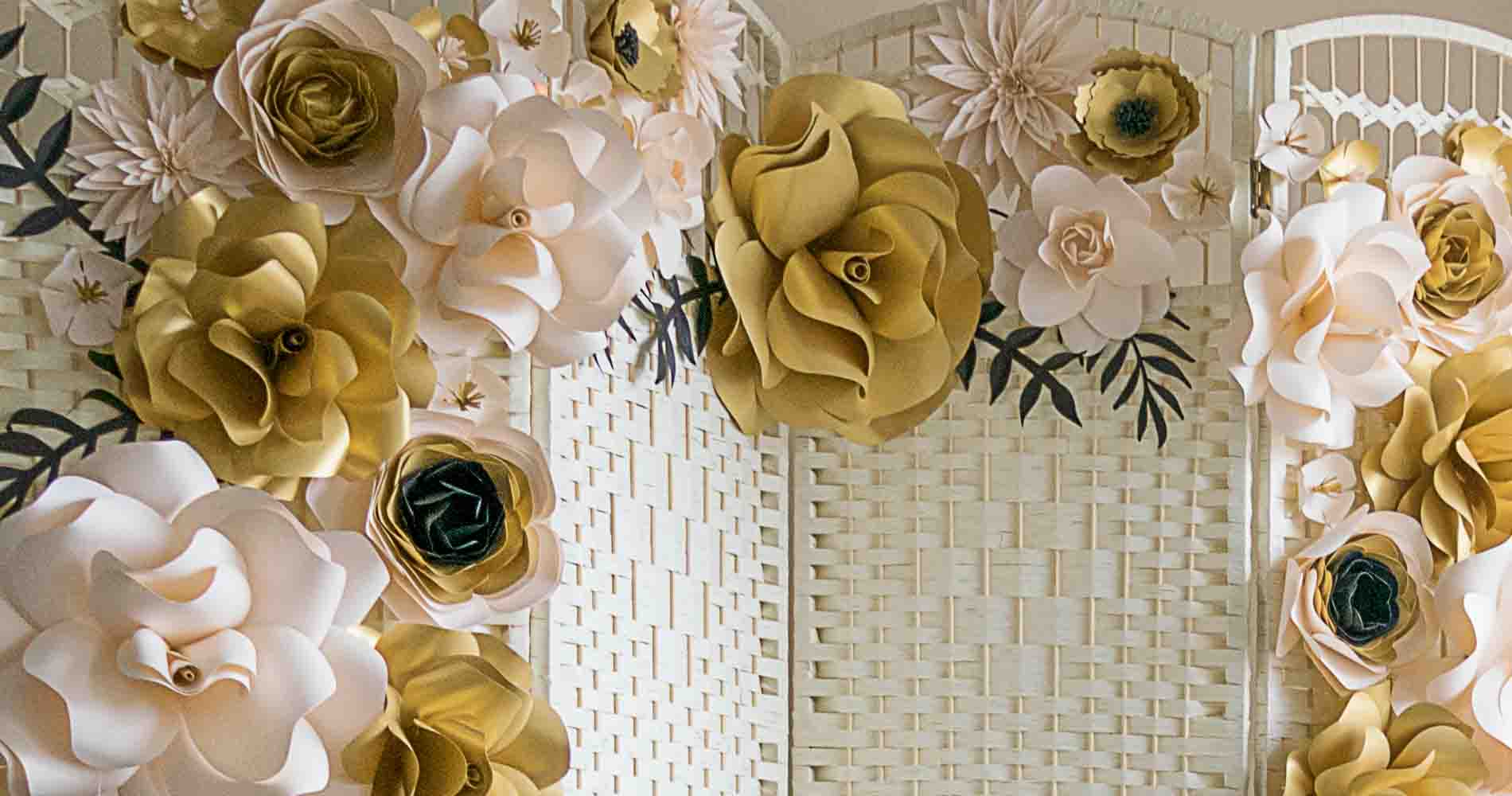 Paper Roses By Lisa J