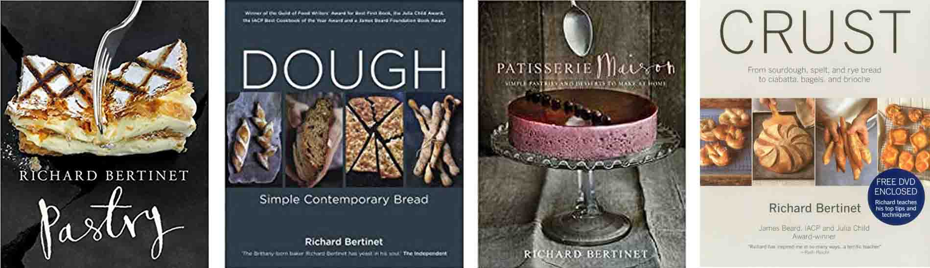 Richard Bertinet Books