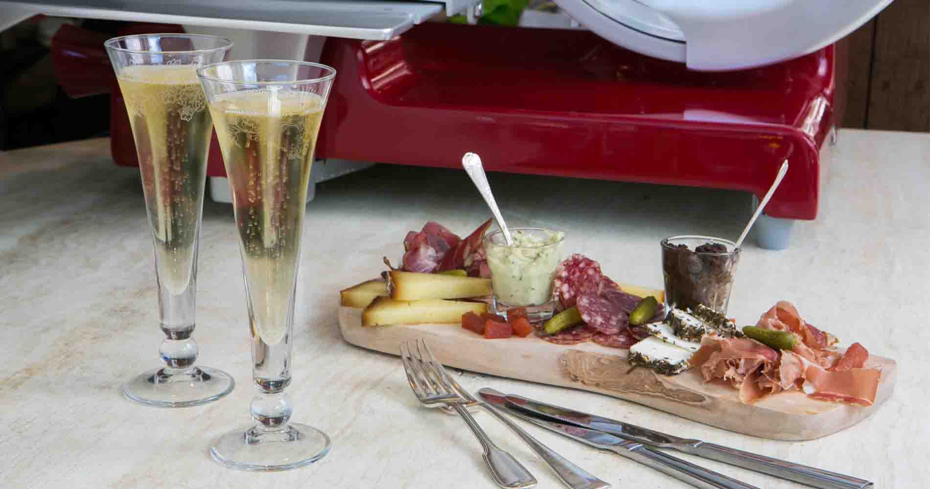 Champagne And Fromage Platter