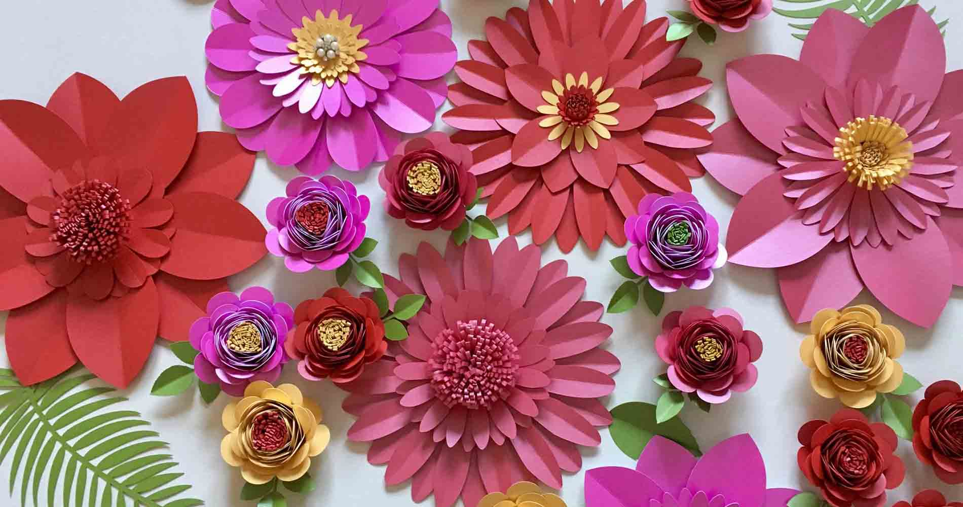 Paper Flower Co Colourful