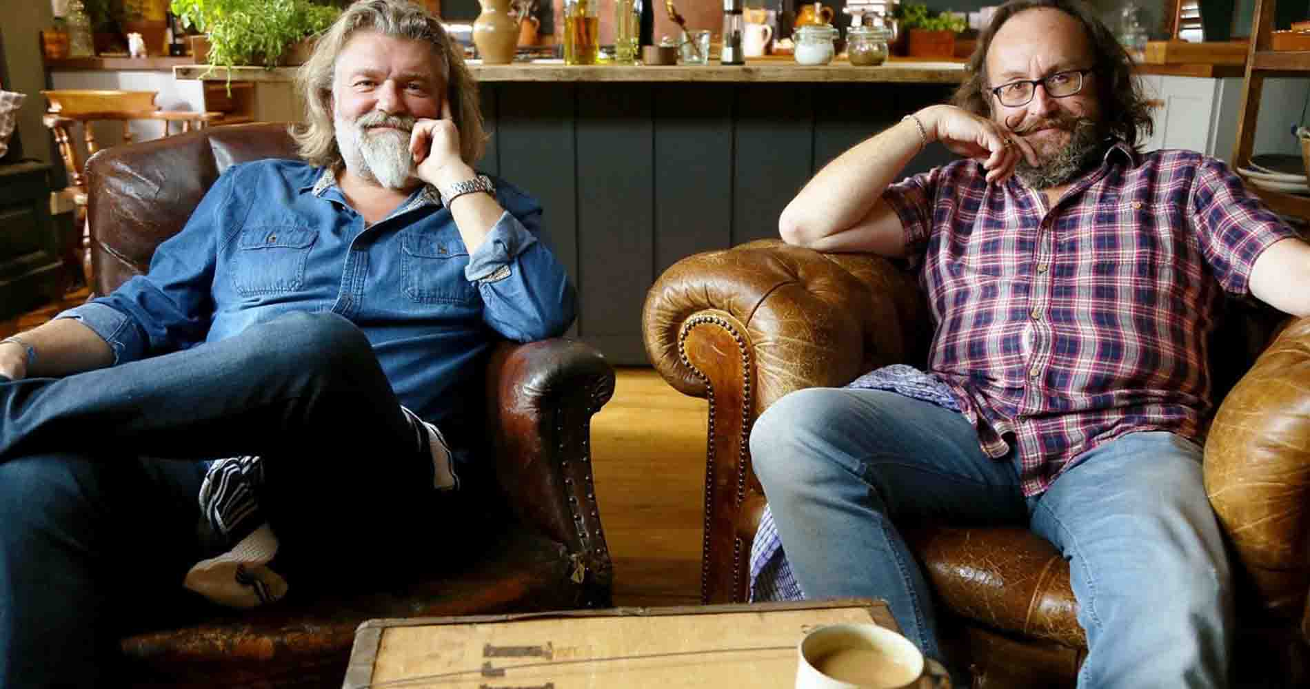 Hairy Bikers VVH Admiral And Daniel Chair