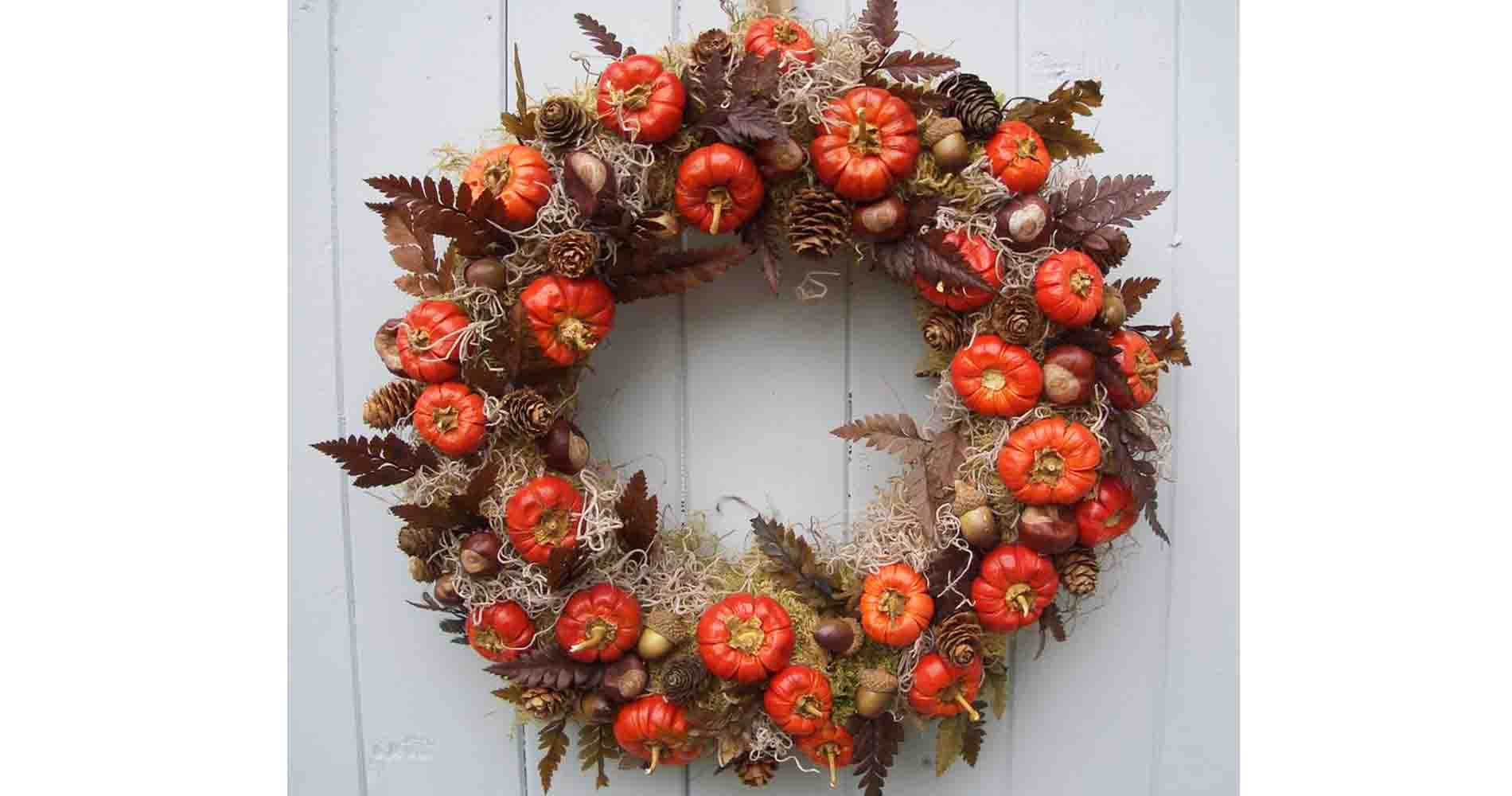 Halloween Door Wreath Pipp Designs