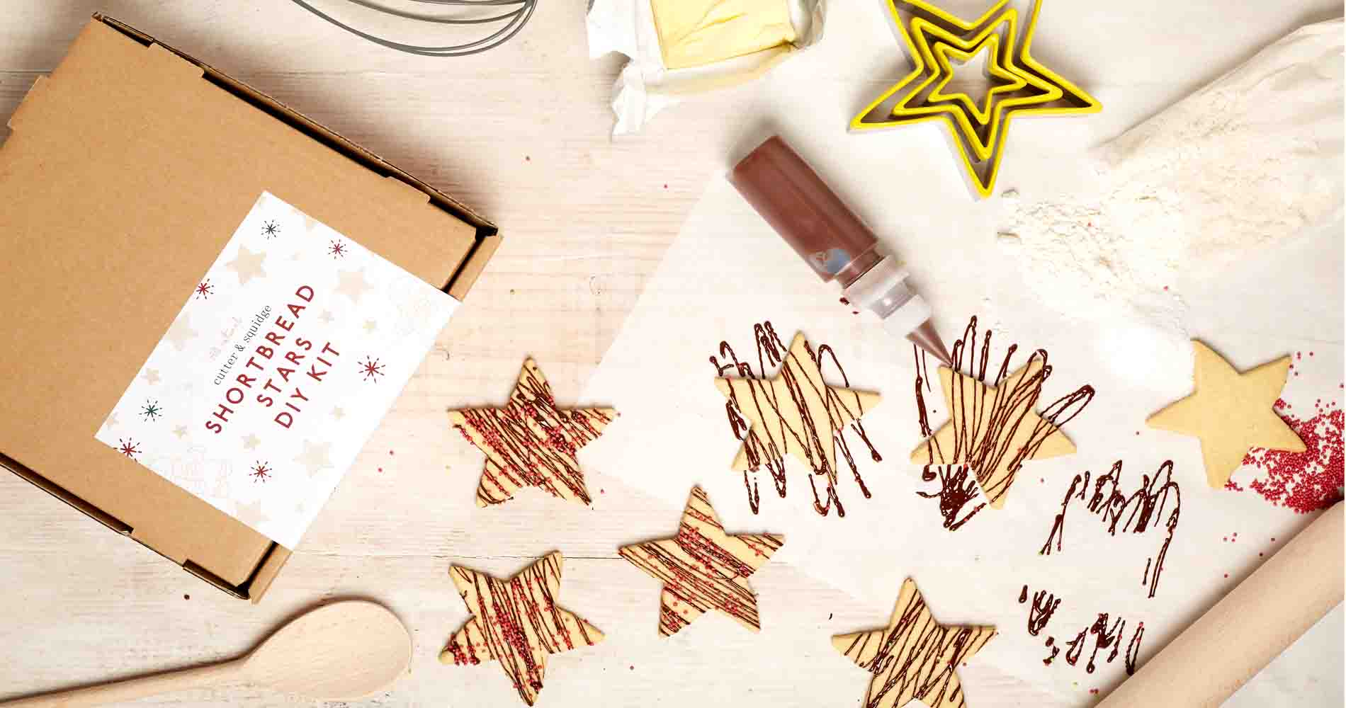 Shortbread Stars Kit