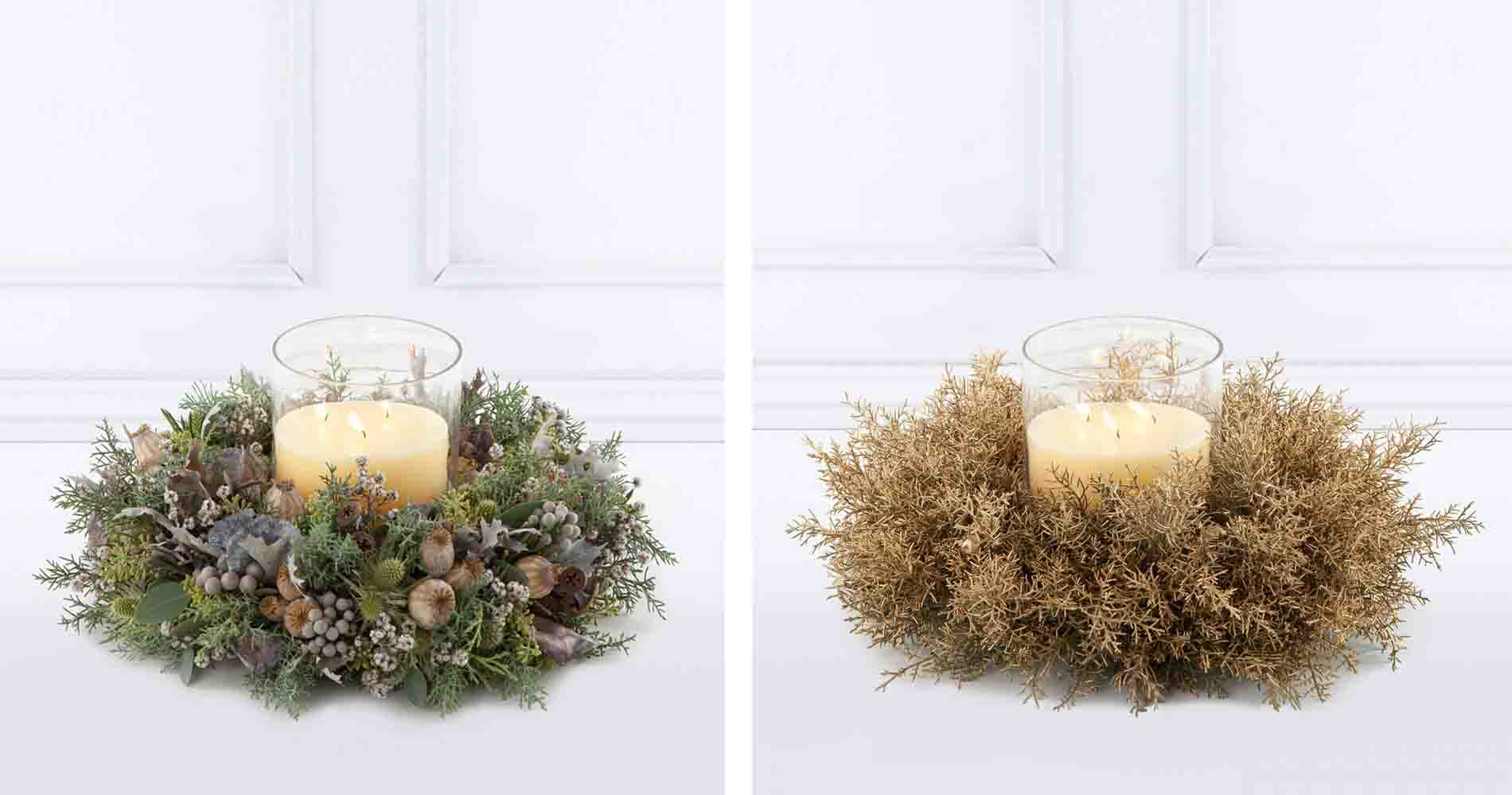 The Luxe Table Wreaths