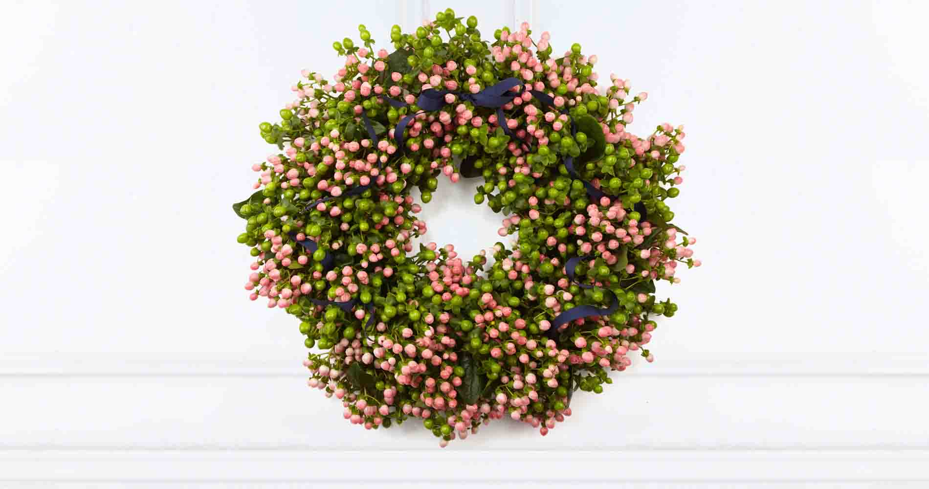 The Pink Coco Wreath