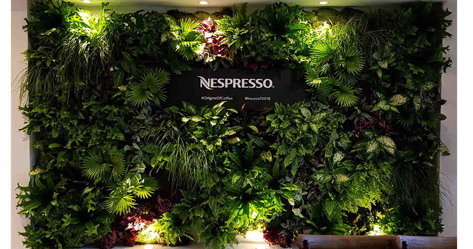 Nespresso Wall Hayford And Rhodes